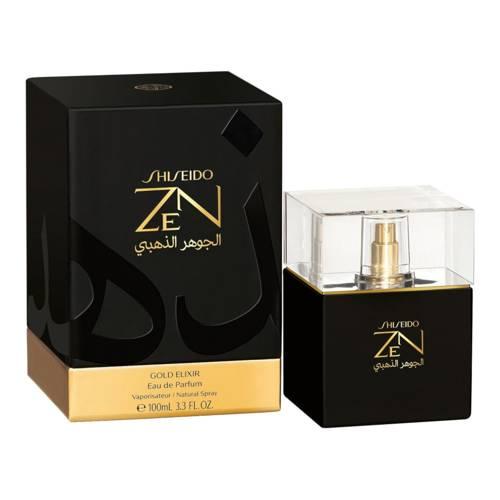 shiseido zen gold elixir woda perfumowana 100 ml