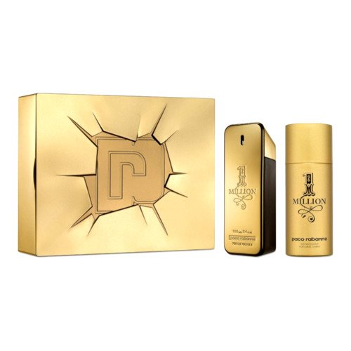Paco Rabanne 1 Million  zestaw - woda toaletowa 100 ml + dezodorant spray 150 ml